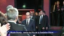 Apparition publique de Jacques Chirac au Quai Branly