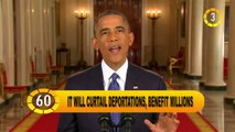 In 60 Seconds - USA: Obama Outlines His Immigration Plan