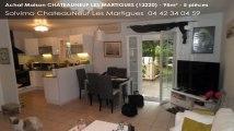 A vendre - maison - CHATEAUNEUF LES MARTIGUES (13220) - 5 pièces - 95m²