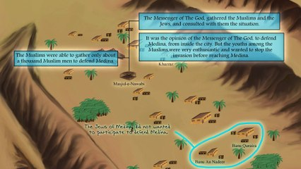 23 The Battle of Uhud (The 2nd attack from Mecca to Medina)