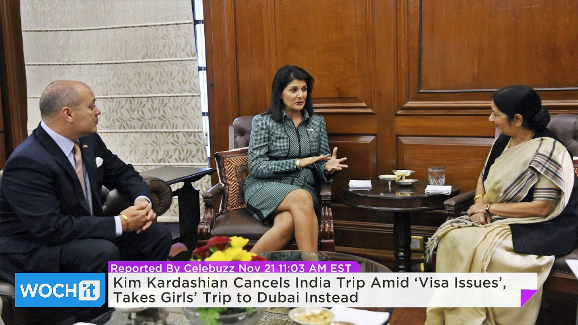 Kim Kardashian Cancels India Trip Amid 'Visa Issues', Takes Girls' Trip to Dubai Instead