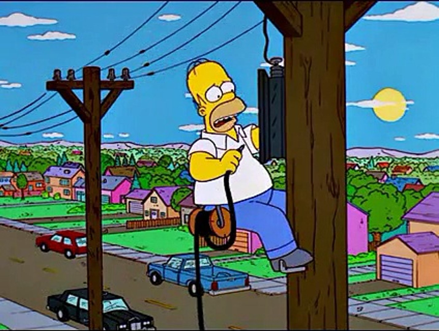 Excellent Homer Gets Electrocuted Download Free Architecture Designs Scobabritishbridgeorg