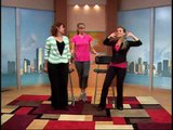 The Balancing Act and Fitness Expert Adriana Martin teaches exercises for older viewers.