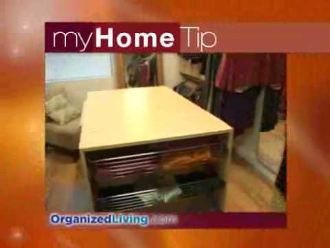 Get rid of the clutter in your kitchen or home office!
