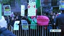 Hundreds protest US support for Mexican drug cartels