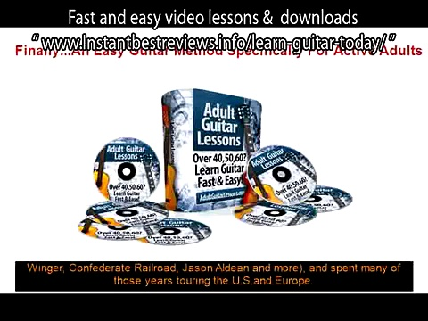 how to learn guitar basics pdf   Adult Guitar Lessons Fast and easy video lessons