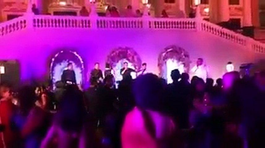 Salman Khan teasing Katrina Kaif at his Sister Arpita's Wedding
