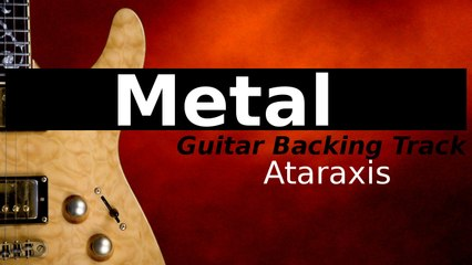 MELODIC METAL Jam Track in C Minor - Ataraxis