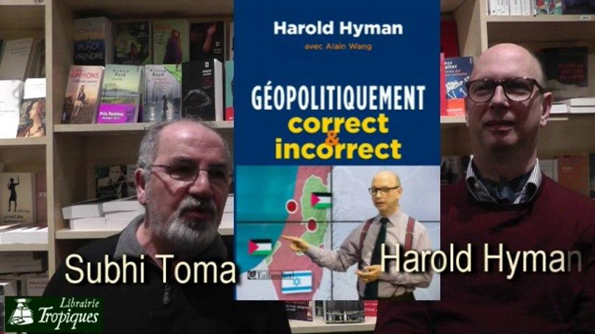 Harold Hyman : géopolitiqument correct ? 1ère partie