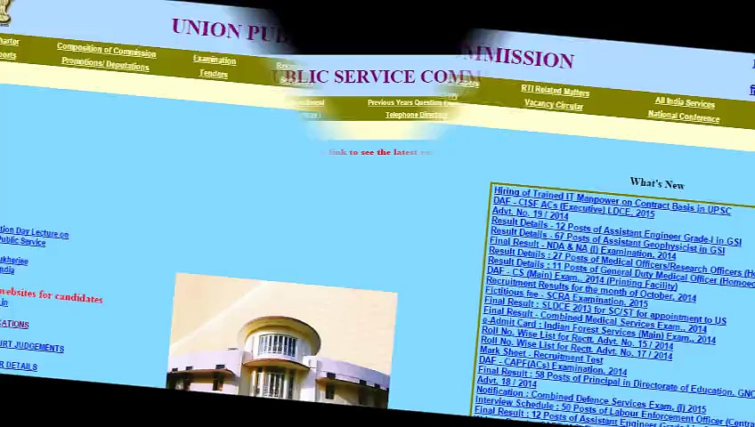 www.upsc.gov.in – Need For Job Seekers To Find A Job