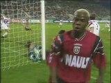 20/09/96 : Sylvain Wiltord (64') : Rennes - Nancy (1-0)