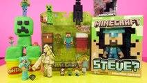 Minecraft Play Doh Creeper Surprise Toy Giant Diamond Steve Red Ore Night Light Disney Cars Toy Club