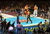 Genichiro Tenryu/Shiro Koshinaka vs. NWO Sting/Brian Adams -- IWGP World Tag Titles9 28 98