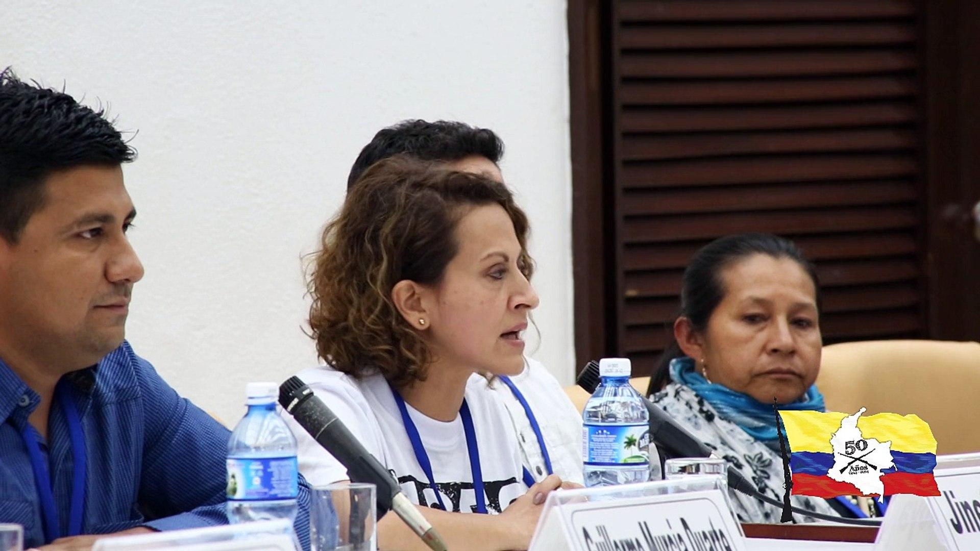 2014,  Noviembre  02,  Rueda de prensa.  Del cuarto grupo de víctimas, del conflicto colombiano. Y f