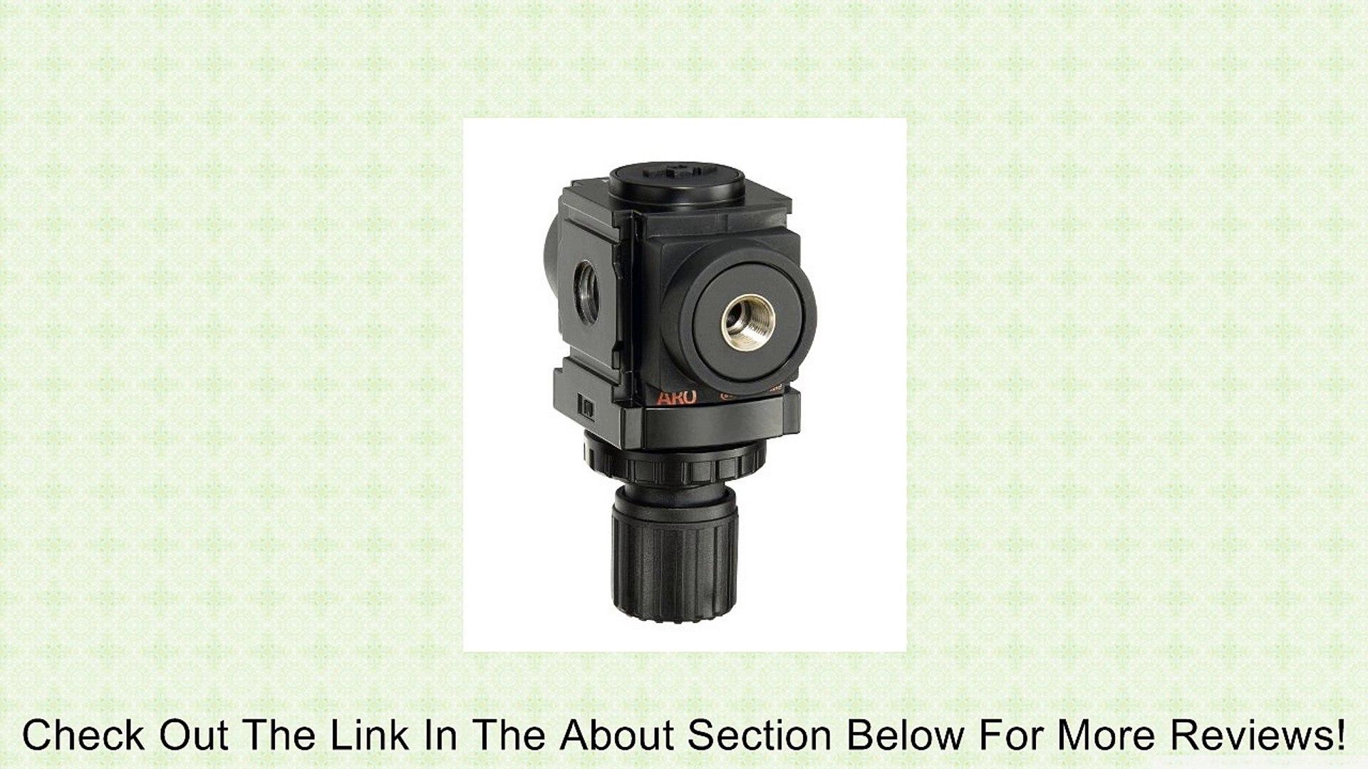 ARO R37221-100 1/2-Inch Air Regulator, Black Review