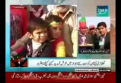 Introduction of Imran Khan's Face Stamp in PTI Gujranwala Jalsa