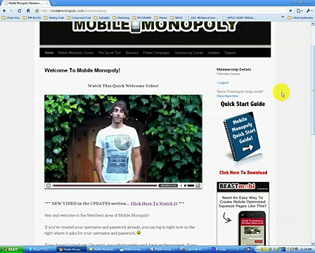 Mobile Monopoly…..Mobile Marketing Made Easy