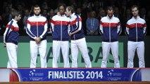 """Coupe Davis 2014 : """"Beaucoup d'émotions très fortes cette année"""""""