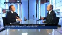 Bruno Le Roux, invité de Guillaume Durand avec LCI