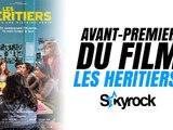 Skyrock.com à l'avant première du film LES HERITIERS