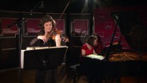 Blues, 2e mvt de la Sonate n°2 pour violon et piano de Ravel par Elsa Grether et Marie Vermeulin | Le live de la matinale