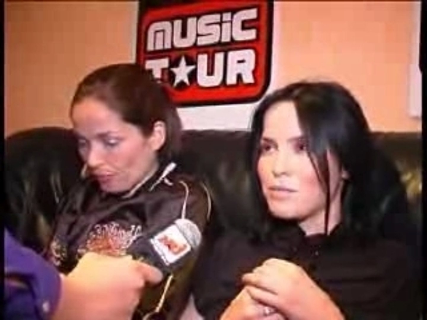 Nrj music tour - interview de The Corrs