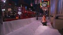 Jimmy Kimmel transforme les fesses de Kim Kardashian en déneigeuse