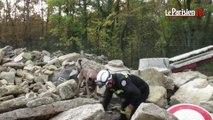 Essonne : de vrais-faux immeubles effondrés pour entraîner les chiens sauveteurs