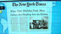 Headlines at 8:30: More working fathers preparing meals