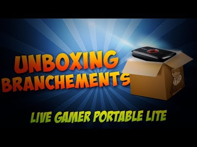 [UNBOXING] AverMedia Live Gamer Portable LITE + Branchement PS4