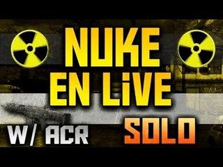 *LIVE SOLO*  Nuke w/ ACR | 1 Like = 10€ ! Profitez en! Retour sur Mw2