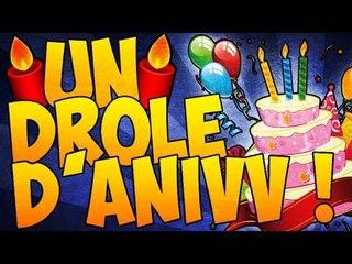 Un drôle d'anniversaire...