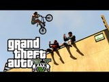 FREESTYLE en BMX de QUALITÉ ! (GTA V BMX Freestyle)