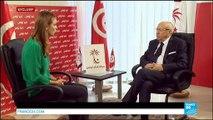 """Béji Caïd Essebsi sur FRANCE24 : """"Si Marzouki a eu ce résultat, c'est principalement grâce au soutien d'Ennahda"""" - TUNISIE"""