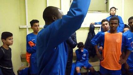 u15(2) Discours de Coach Fousseynou après dernier match du 01/11/2014