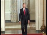 'Don't Watcth That Watch This' George Bush Walking BBC Comedy 2005 UK
