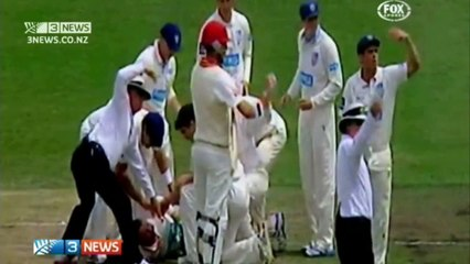 Philip Hughes knocked down by brutal bouncer