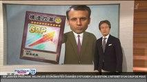 Chroniques : Sarkozy en appelle à ses followers, Macron passe à la TV japonaise et Hollande parodié