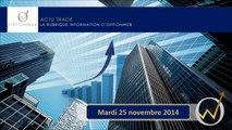Trader les options binaires, ActuTrade 25 novembre 2014   AUD NZD, AUD USD et FTSE 100