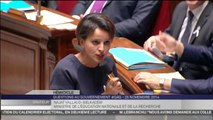 Questions au gouvernement : Najat Vallaud-Belkacem sifflée sur les rythmes scolaires