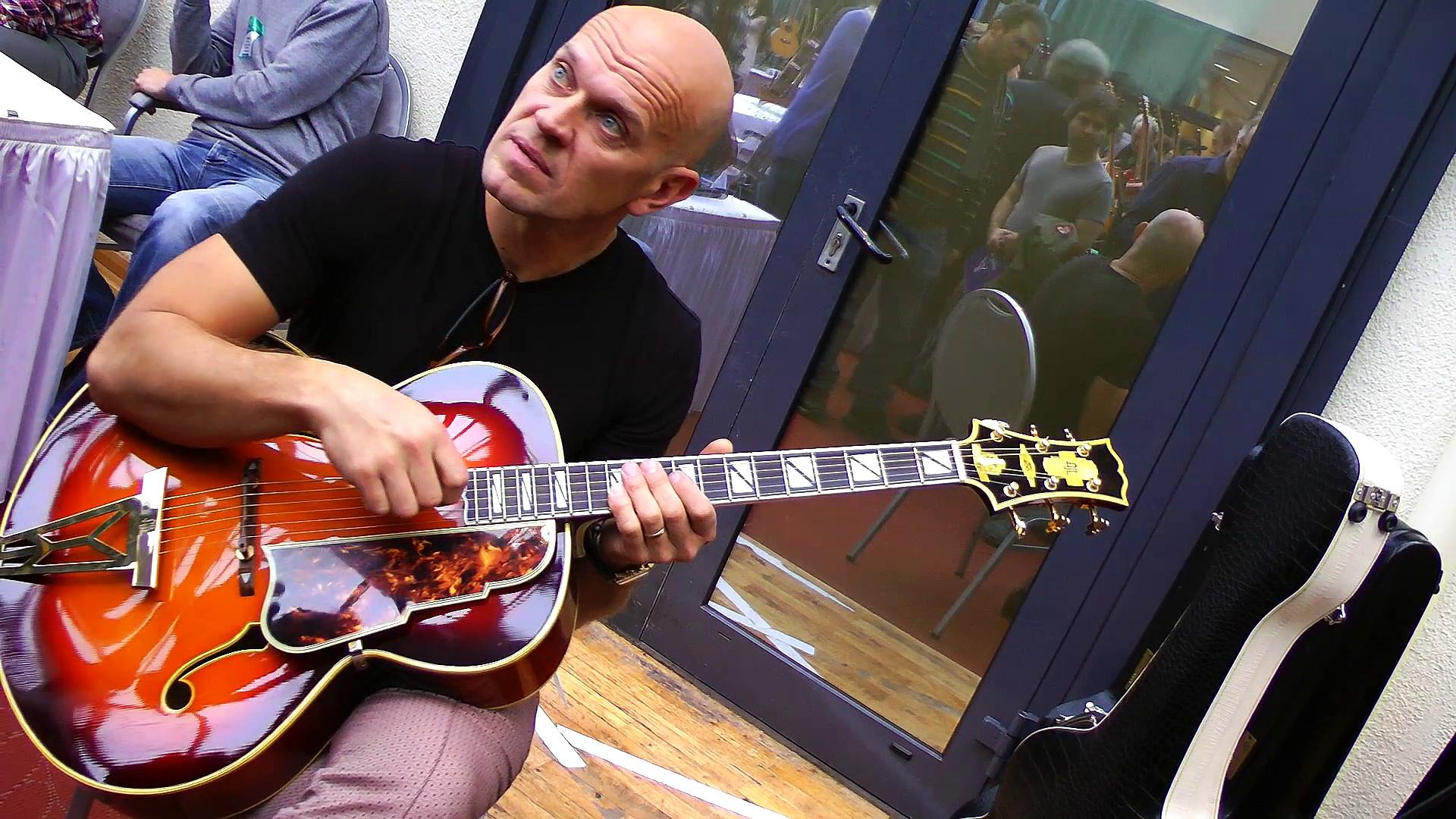 The Holy Grail Guitar Show 2014 – AJL Guitars