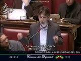 """Michele Dell'Orco (M5S): """"Con questa legge delega la sinistra è morta"""" - MoVimento 5 Stelle"""