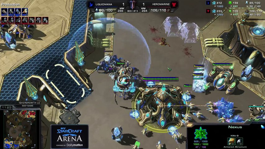 MyStarCraft Arena by Khaldor! LIVE (REPLAY)