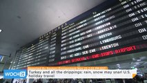 Turkey and All the Drippings: Rain, Snow May Snarl U.S. Holiday Travel