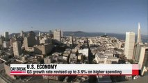 U.S. revises up Q3 economic growth to 3.9%
