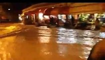 pluie diluvienne   tiznit  maroc