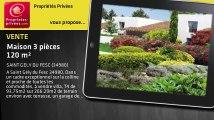 A vendre - maison - SAINT GELY DU FESC (34980) - 3 pièces - 120m²