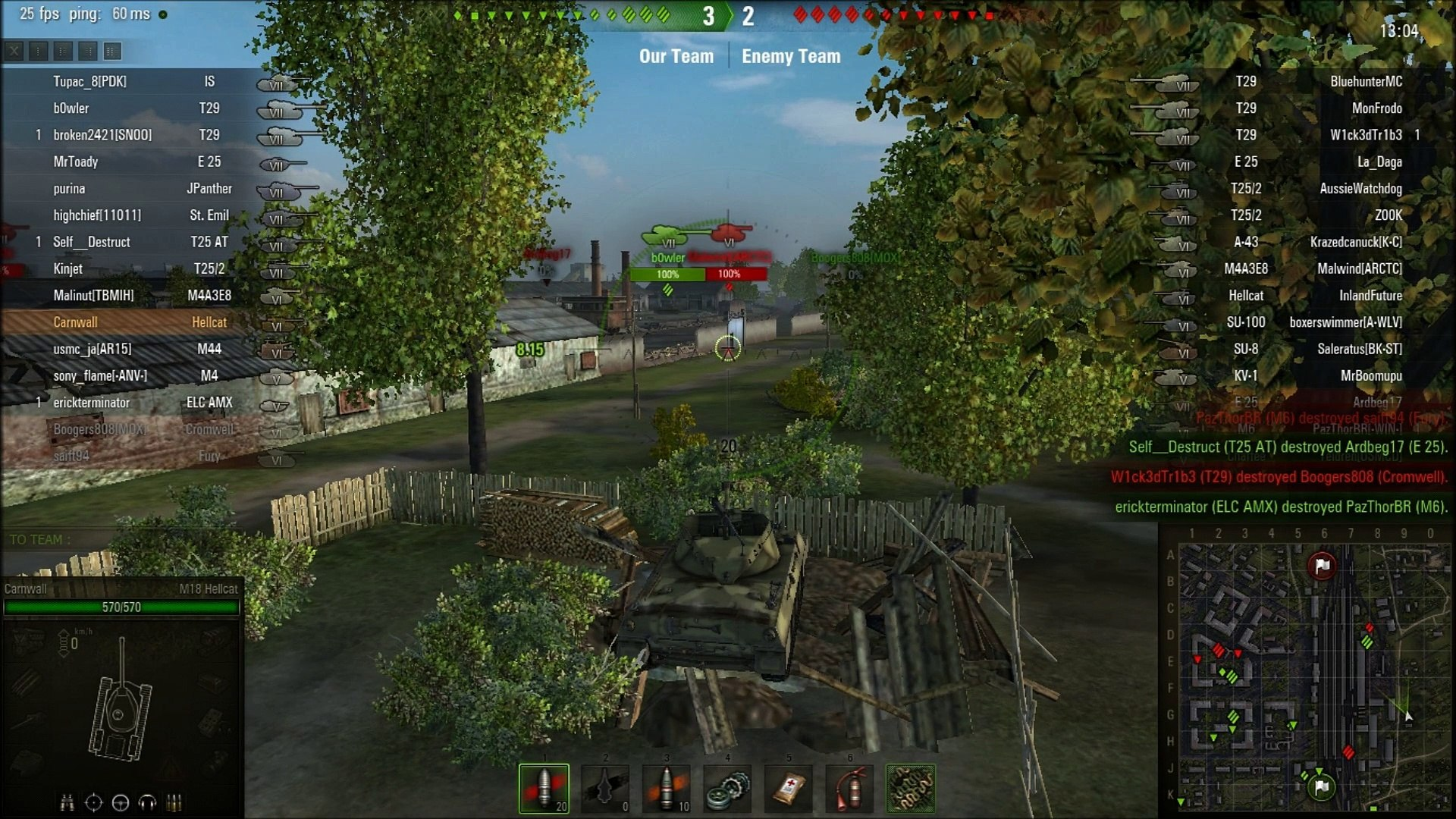 World Of Tanks: Random Battle - Ensk