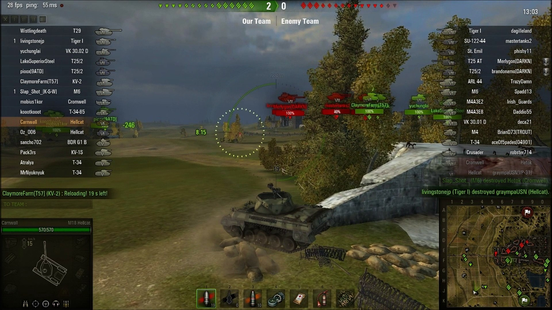 World Of Tanks: Random Battle - Siegfried Line