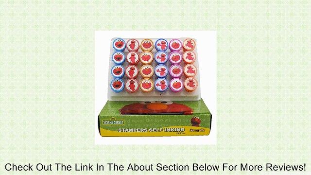 Elmo Sesame Street Stamp Art 24 Pcs Review
